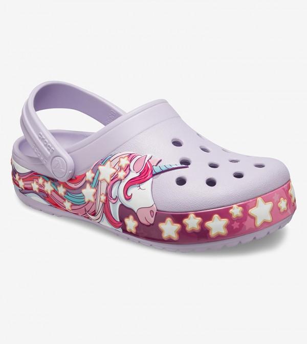 Kids' Crocs FunLab Unicorn Band Clog